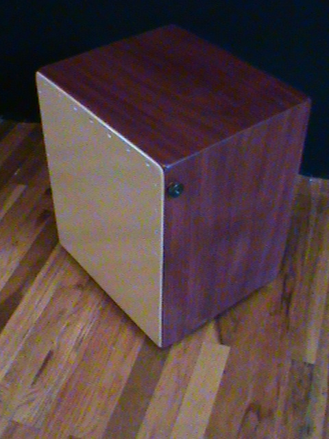 Solid Purplheart Flagship Snare Cajon
